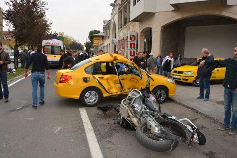 """Taksici O Kazada """"Ben U dönüşü yapmadım"""" dedi."""