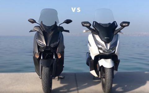 2019 Yamaha XMAX 250 mi, Honda Forza 250 mi?