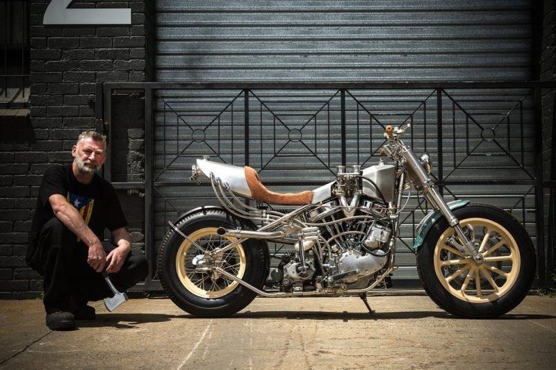 Custom Harley Davidson Hot Rod 10 800x533 - Custom Harley-Davidson Hot Rod / MLR Custom Coachbuilder