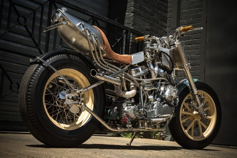 Custom Harley Davidson Hot Rod 3 800x533 - Custom Harley-Davidson Hot Rod / MLR Custom Coachbuilder