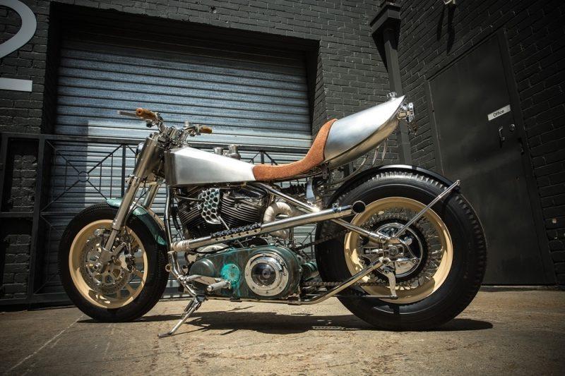 Custom Harley Davidson Hot Rod 7 800x533 - Custom Harley-Davidson Hot Rod / MLR Custom Coachbuilder