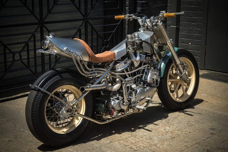 Custom Harley Davidson Hot Rod 9 800x533 - Custom Harley-Davidson Hot Rod / MLR Custom Coachbuilder