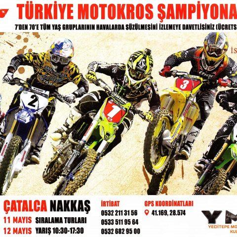 Türkiye motokros şampiyonası 11, 12 Mayıs