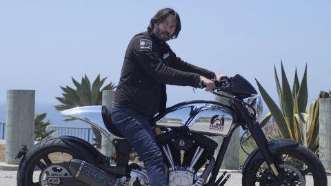 Keanu Reeves'in favori motosikletleri