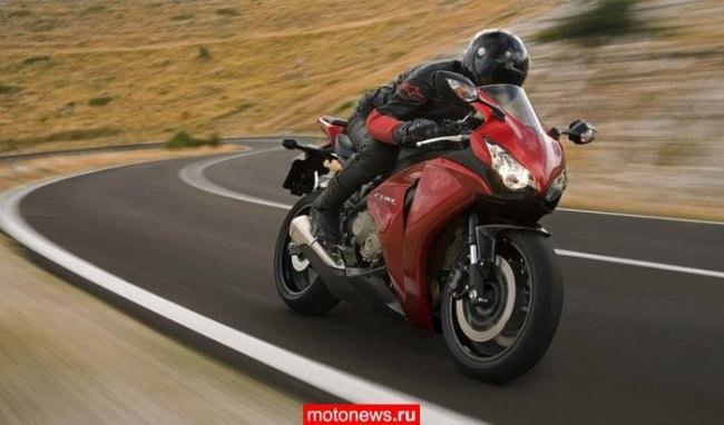 Honda fireblade 2008, 1000cc