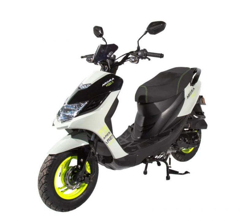 arora ares ar 50 11 scooter motosiklet 800x721 - Ehliyet gerektirmeyen 50cc motorlar