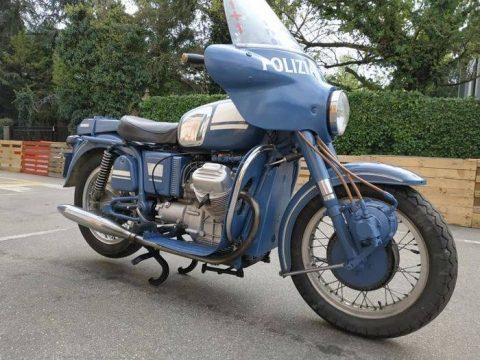Moto Guzzi polis motoru