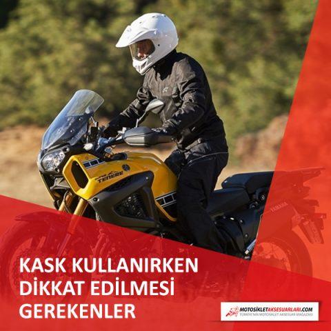 Motosiklet Kaskı Alırken ve Kullanırken Dikkat Edilmesi Gerekenler
