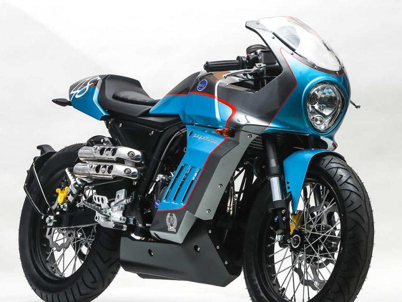 Mondial Pagani 125 от QB Motorcycles Ltd