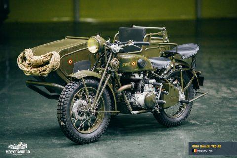 Gillet Herstal 720 AB   Belgium, 1939