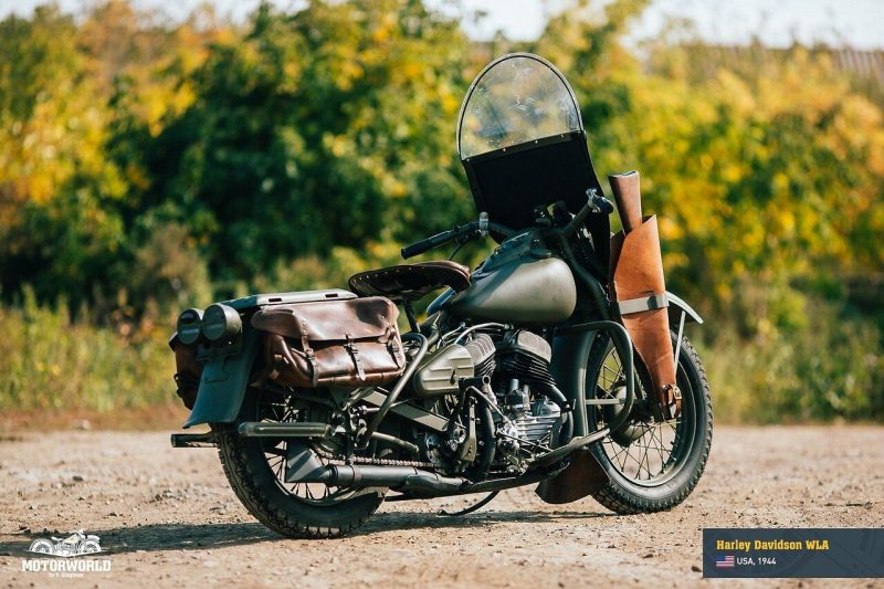 Harley Davidson wla 2 800x533 - 1944, Harley-Davidson wla   ABD