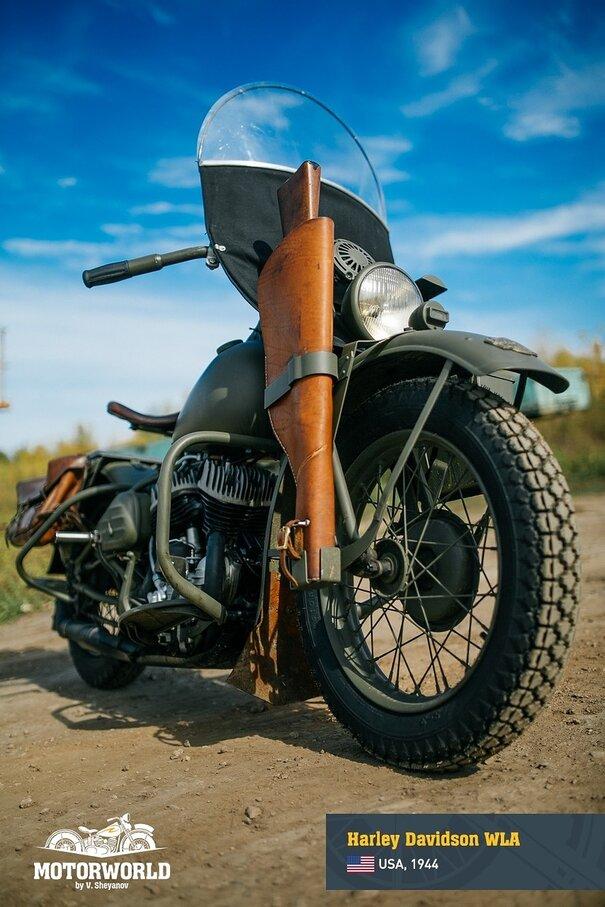 Harley Davidson wla 5 - 1944, Harley-Davidson wla   ABD