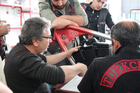 Yerli Sermaye ile Antalya'da üretilen Whitestar Springer Elektrikli Bisikleti