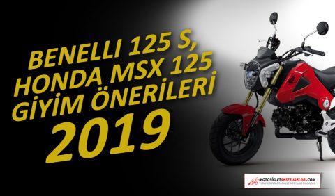 Benelli 125, Honda MSX 125, Giyim Önerileri