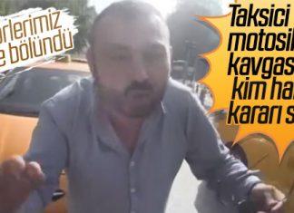 taksici-motorcu-kavgasi