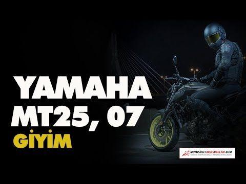 Yamaha MT25, MT07 Giyim Tavsiyeleri