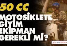 50 cc motor giyimi
