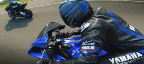 2020 Yamaha YZF-R1 and YZF-R1M. R History