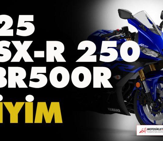 r25, gsx-r 250, cbr500r motorcu giyim