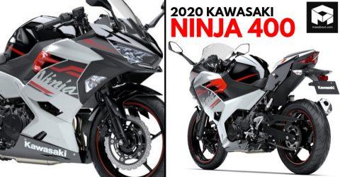 2020 Kawasaki Ninja 400 Japonya'da Çıktı