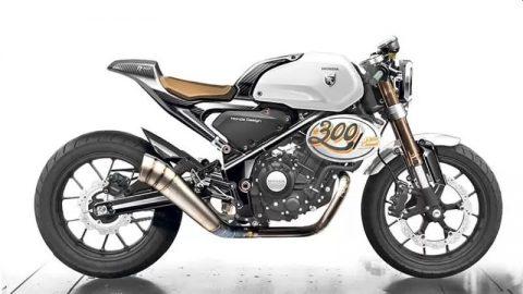 Honda CB300 TT Cafe Racer 2020'de Çıkıyor