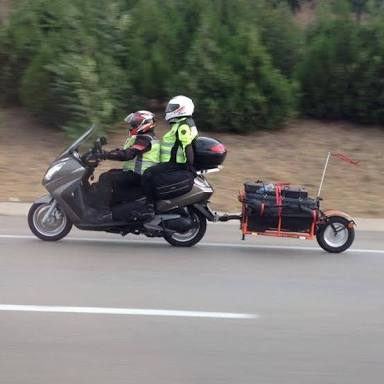 Motosiklet römork