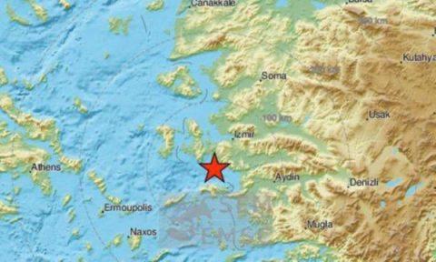Deprem İzmir'de 4.3 olarak hissedildi