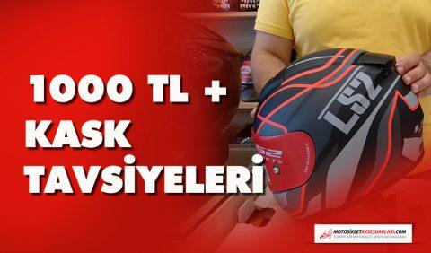 1000 TL + Spor Motosiklet Kask Tavsiyesi