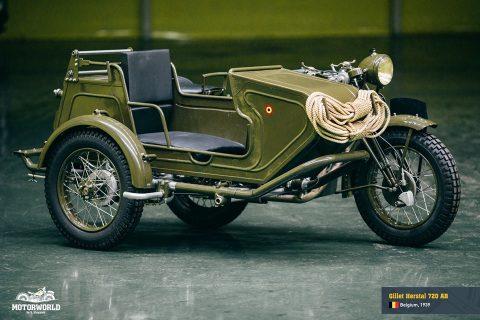 Gillet Herstal 720 AB, Belgium, 1939