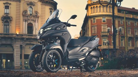 Tricity 300, 2020'de caddelerde olacak