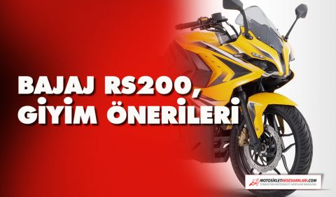 Bajaj RS 200 Ekipman, Giyim Önerileri