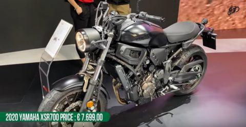 Top 8 New Yamaha Motorcycles At The Eicma Motor Show 2019