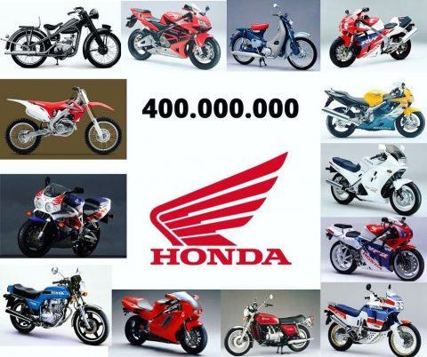 Honda, 70 yılda 400 milyon motosiklet üretti