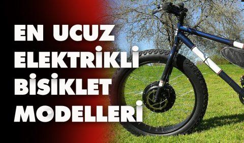 En ucuz elektrikli bisiklet fiyatları