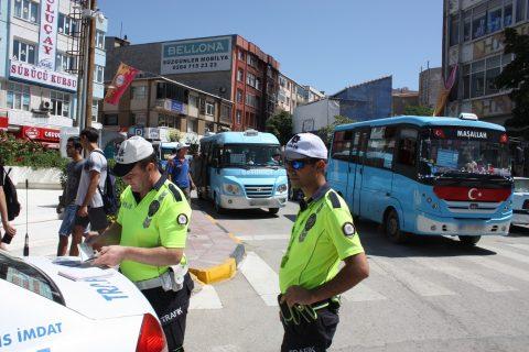 Trafik idari para cezasıyla birlikte aracın trafikten men edilmesine de karar verilirse