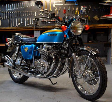 Honda CB 750, 1969