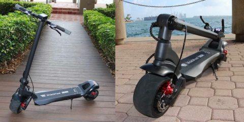 2020 WideWheel Pro elektrikli scooter