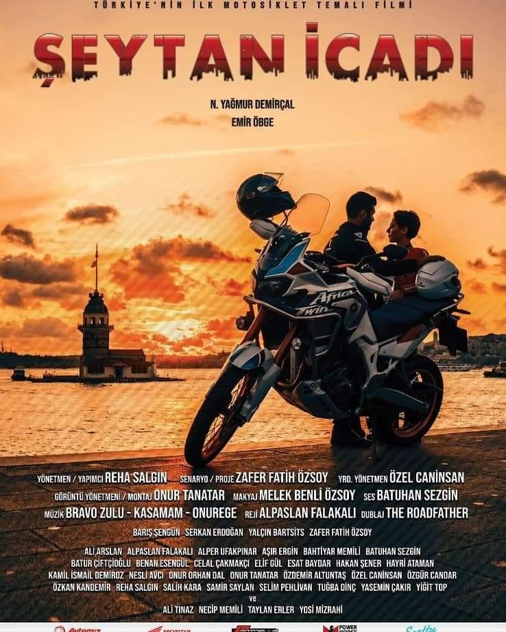 Şeytan icadı filmi motosiklet fuarında