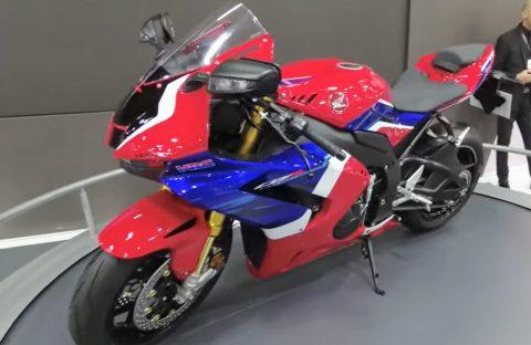 Motosiklet Fuarı 2020, Honda Standı