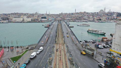Bugün, İstanbul; Corona Etkisini Görün
