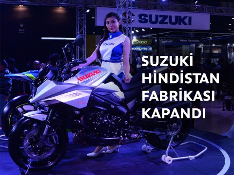 Suzuki Motosiklet Hindistan Haryana Fabrikasında Üretimi Geçici Olarak Ara Verdi