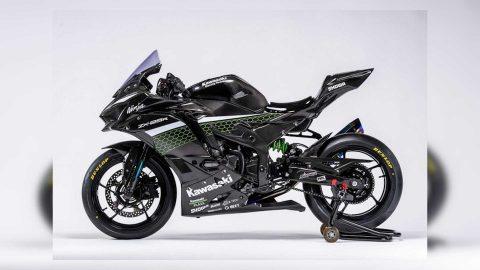 Kawasaki Release 2021 Race-Spec Carbon ZX-25R Pictures