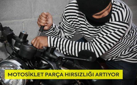 Motosiklet Parça Hırsızlığı Artıyor