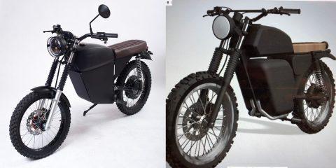 BlackTea elektrikli moped, daha iyi bir tasarıma sahip