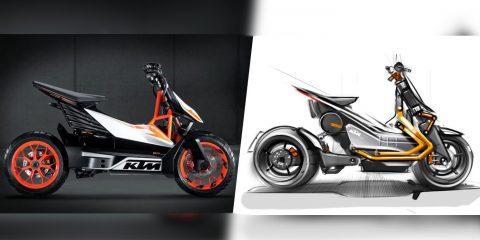 KTM, scooter / motosiklet boşluğunu için yeni elektrikli motosiklet üzerinde çalışıyor