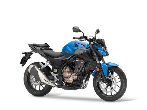 2021 Honda CB500F, CB500X ve CBR500R