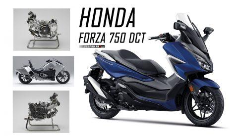 Honda Forza 750 Geliyor