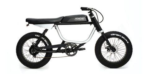 Anza elektrikli moped, Monday Motosiklet en düşük tarafından e-moped olarak tanıtıldı