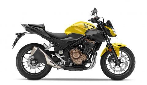 Honda CB500F, 2021