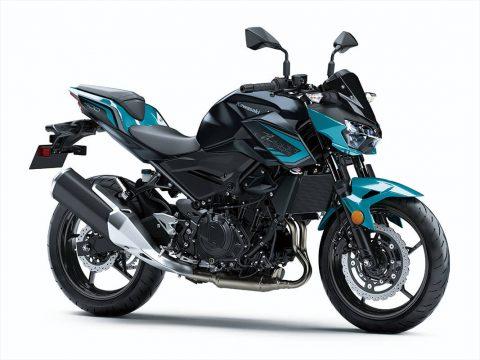 Kawasaki Z400, 2021